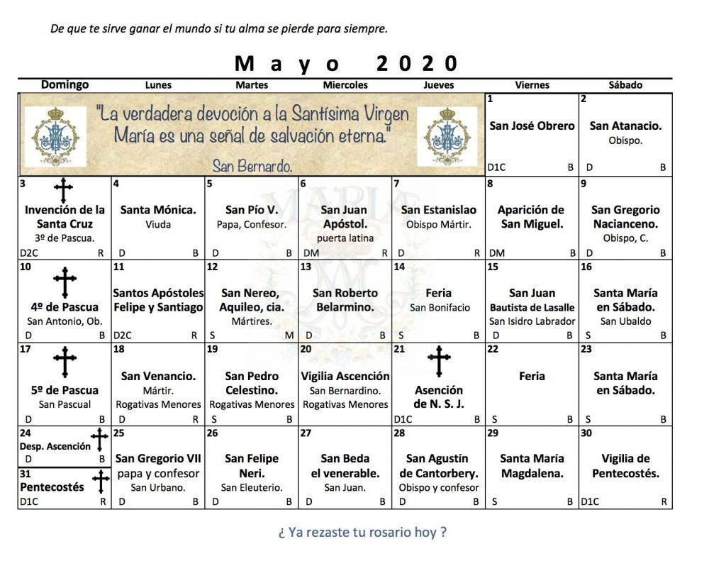 santos de Mayo